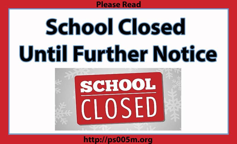 School Closed Until Further Notice Featured Photo
