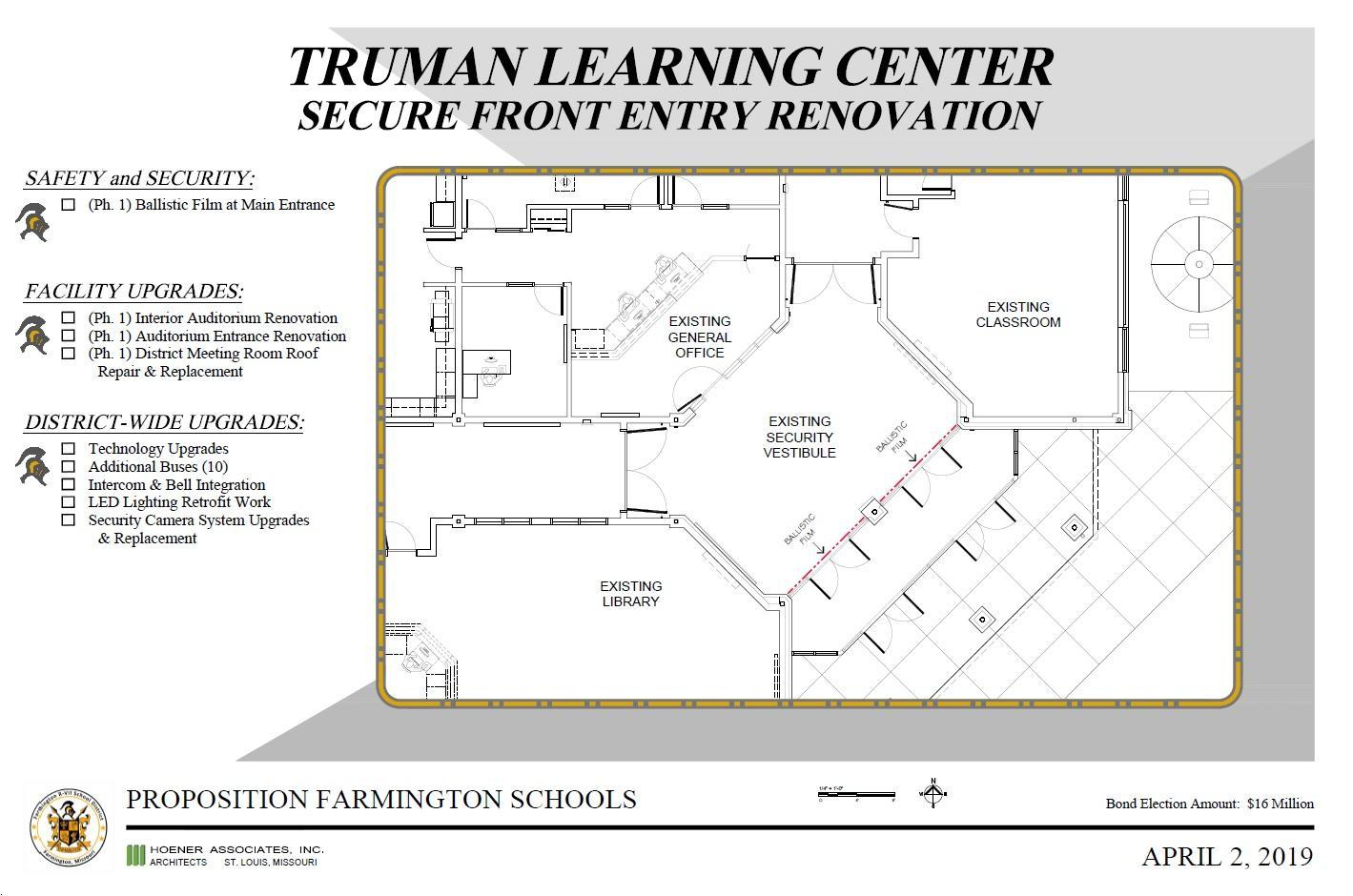 Truman Secure Front Entry