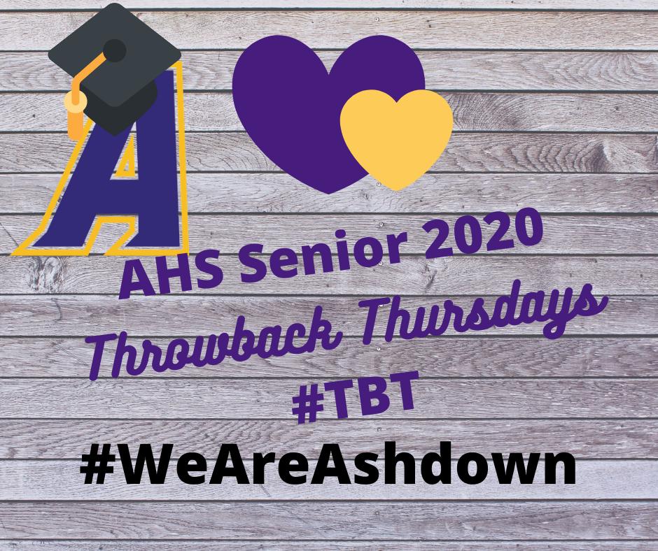 Throwback Thursday seniors 2020