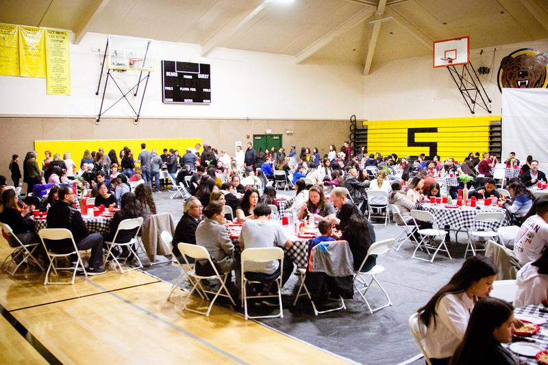 Student Leaders Host First Sylvandale Community Dinner Thumbnail Image