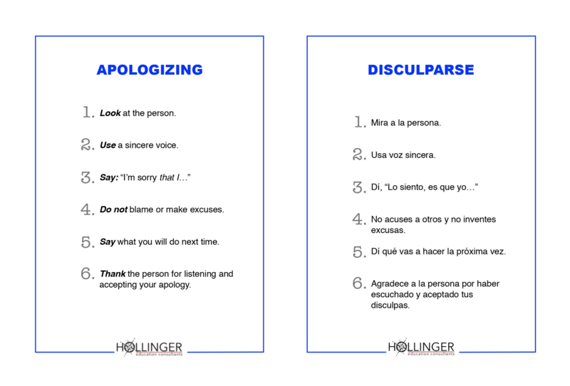 Project RESSPECT: Apologizing