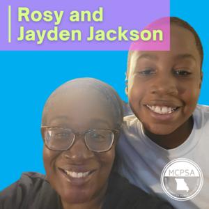 Rosy and Jayden Jackson Photo