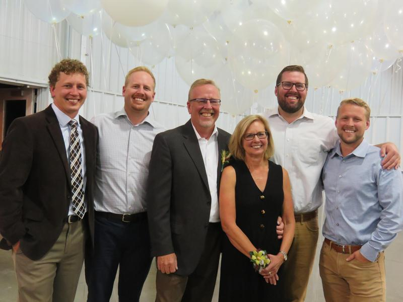 Scott and Debby McKeown with their four sons, Patrick, Brian, Kyle and Michael.