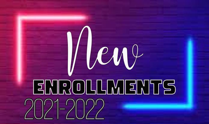 New enrollment 21-22