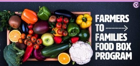 Farmers to Families Food Box Program Featured Photo
