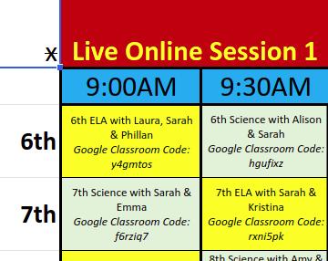 UAI Online Schedule Link