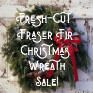 Christmas Wreath Sale