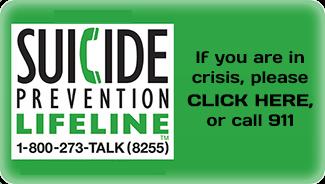 suicide prevention hot line