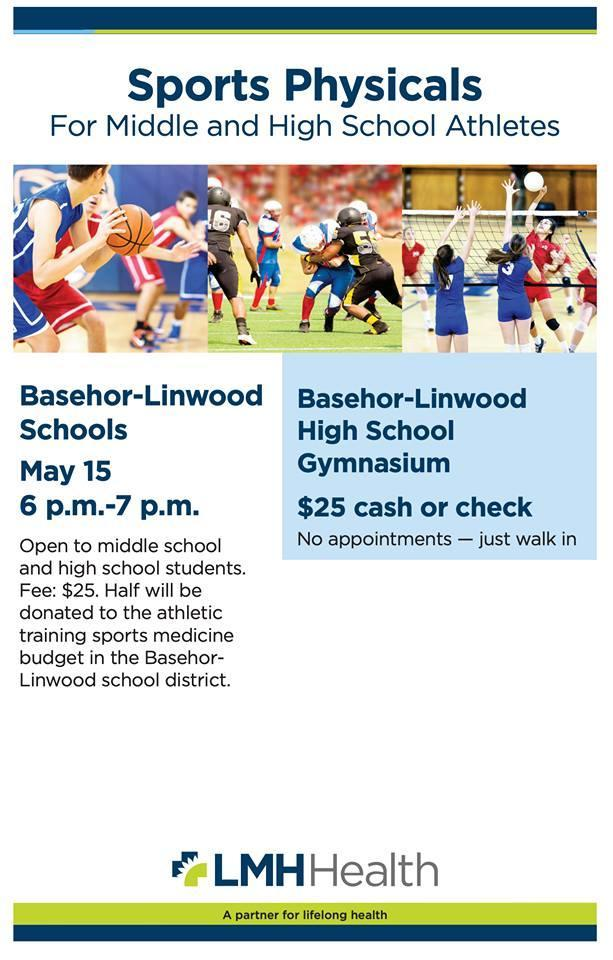 Sports Physical Night Information