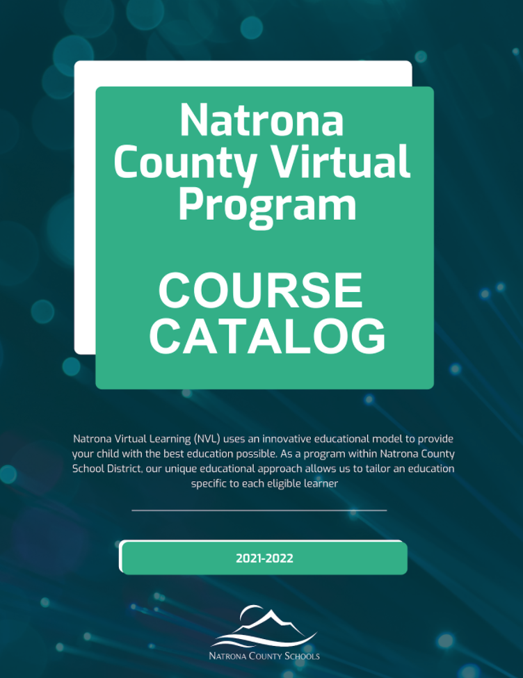 Natrona County Virtual Program Course Catalog cover