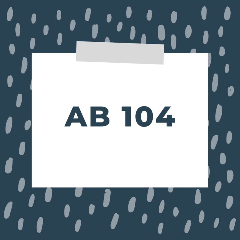 AB 104 Featured Photo