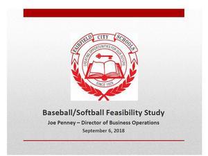 Baseball-Softball Feasibility Study image.JPG