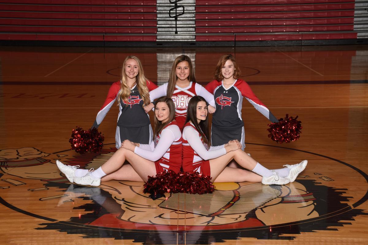 JV BB Cheerleaders 19/20