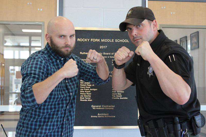 School Resource Officer, assistant principal highlight pro wrestling lineup Saturday at Rocky Fork Middle Thumbnail Image