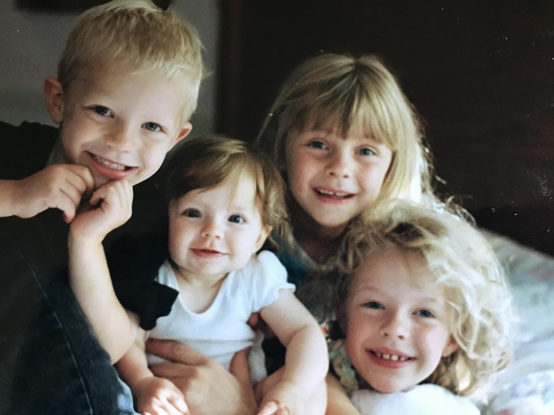 This is one of my favorite pictures of my kids when they were little.