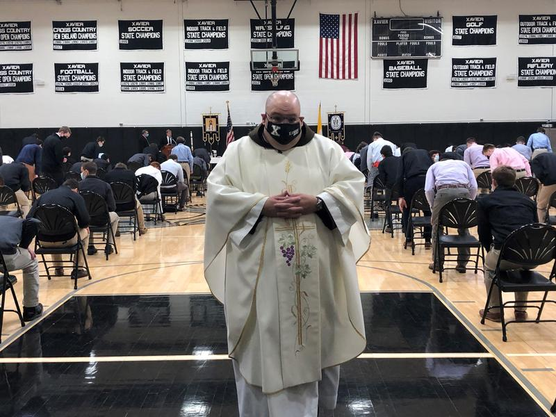 Father Ernie Bedard of St. Pius in Middletown