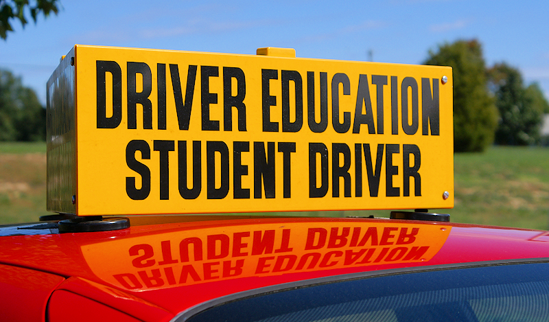 Driver's Ed Sign