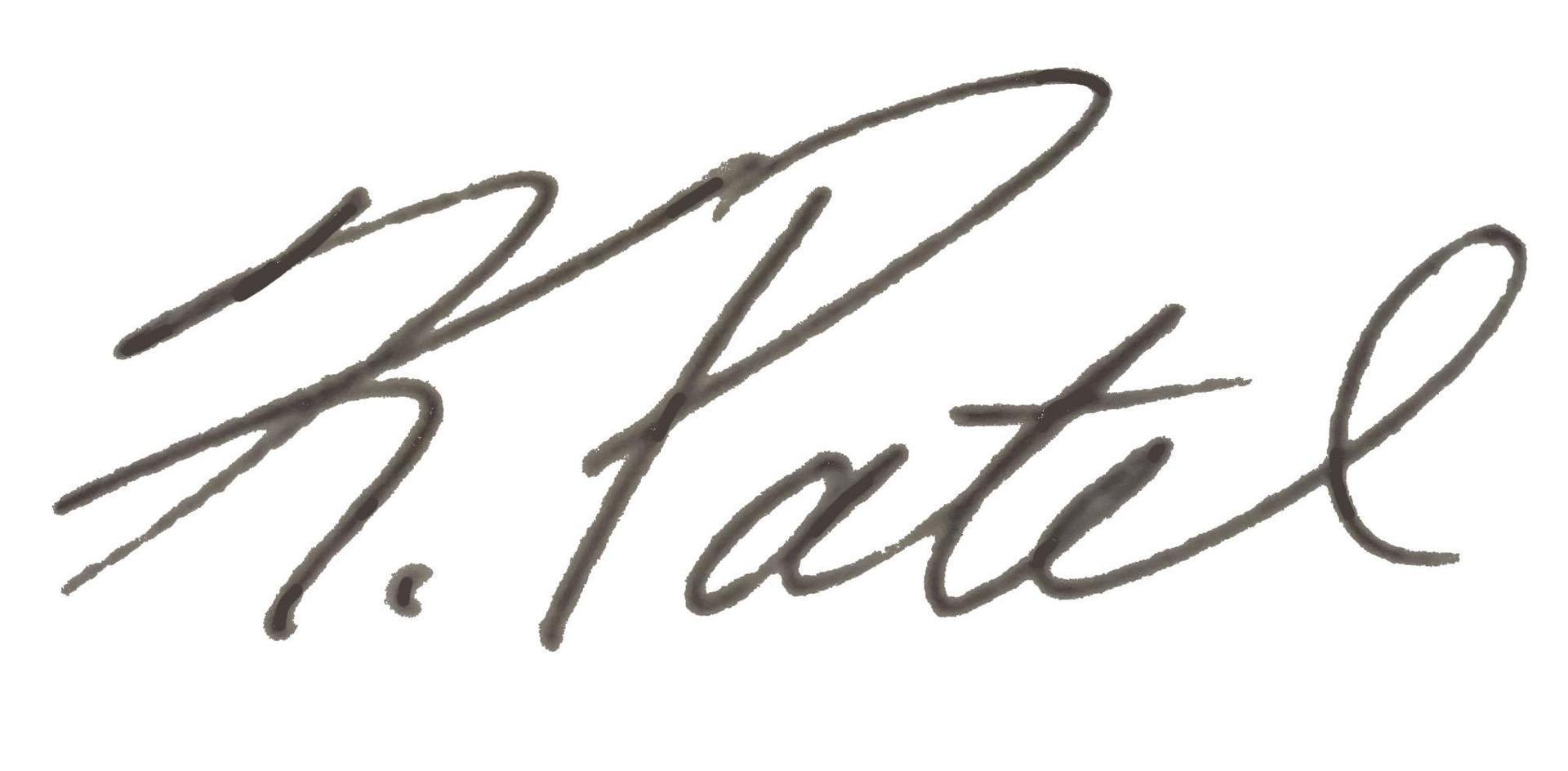 Kavitha Patel Signature