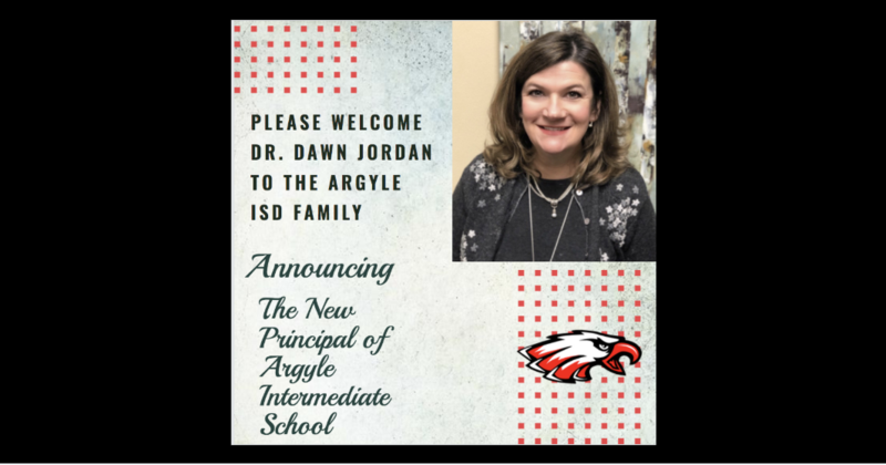 AISD ANNOUNCES NEW PRINCIPAL OF ARGYLE INTERMEDIATE SCHOOL Thumbnail Image