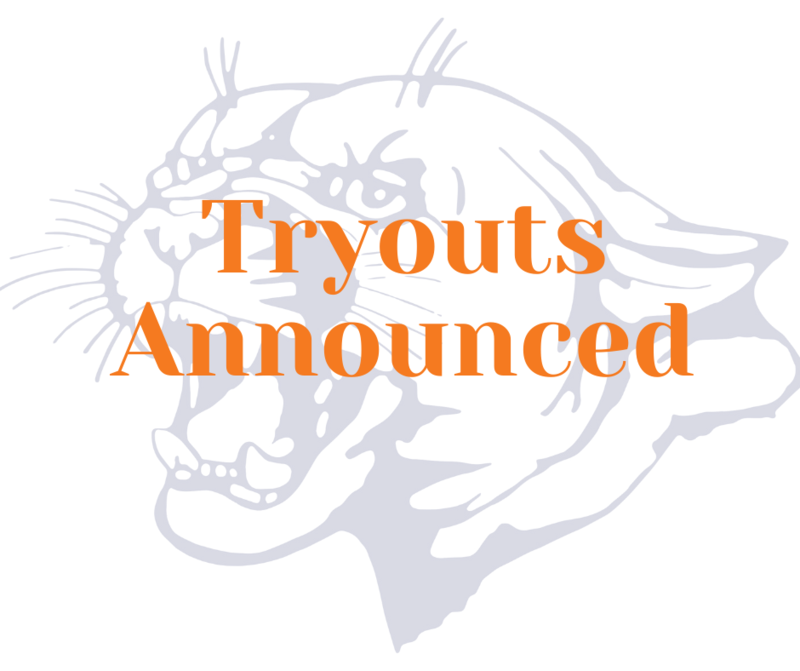 Tryouts Announced Image