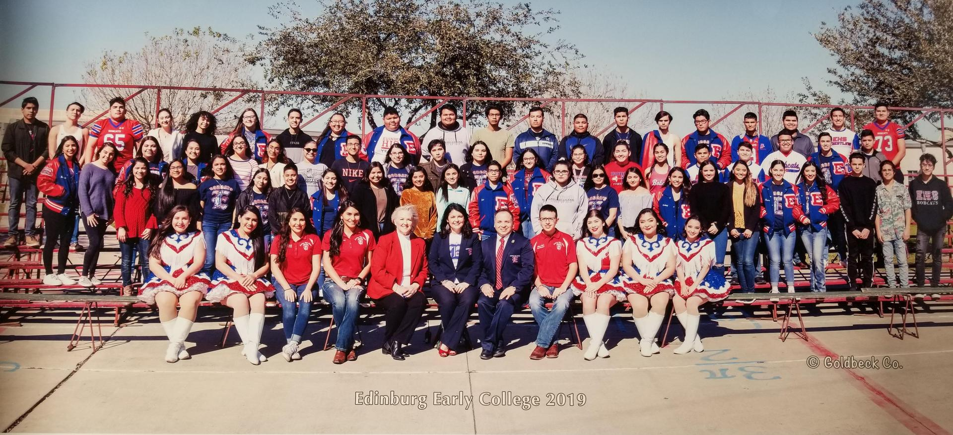2018 - 2019 Edinburg Collegiate Prep Seniors