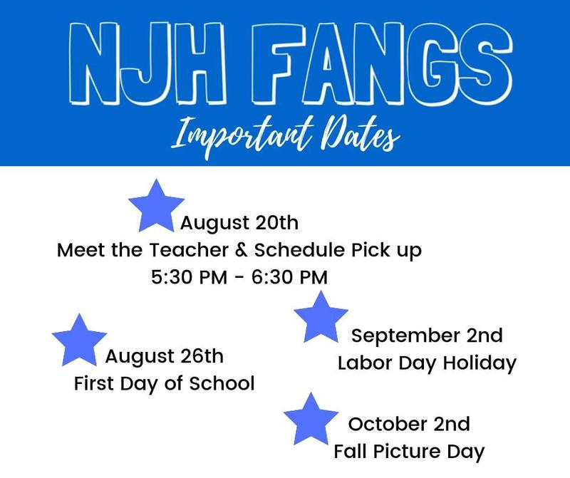 NJH Important Dates Featured Photo