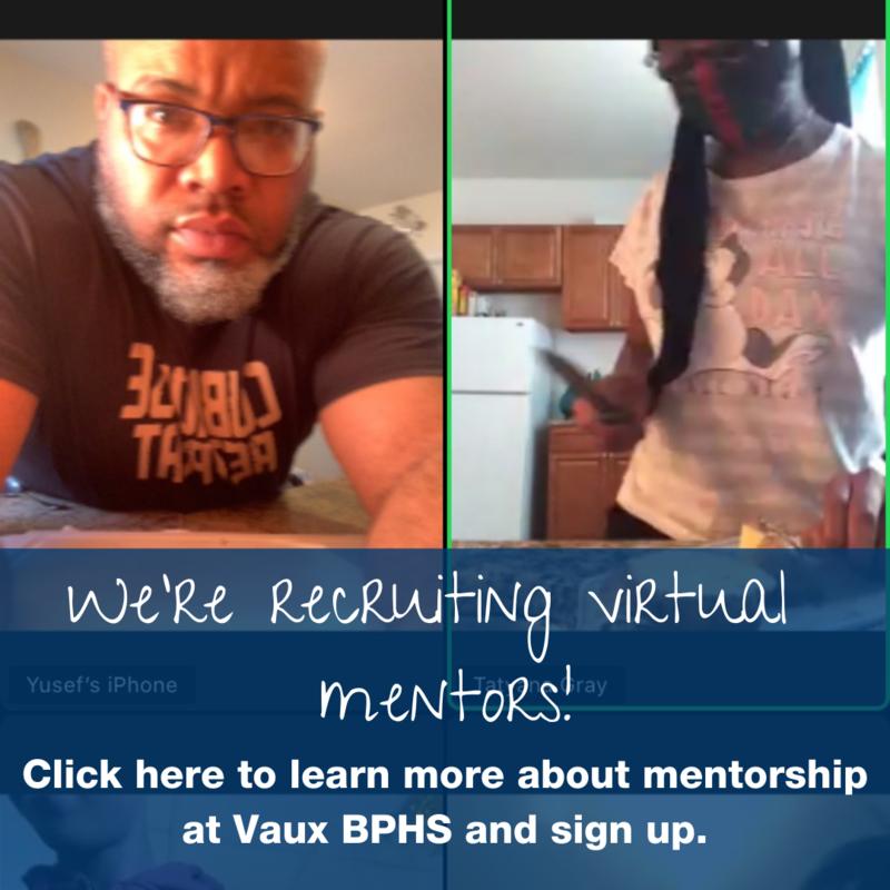 We're recruiting virtual mentors!