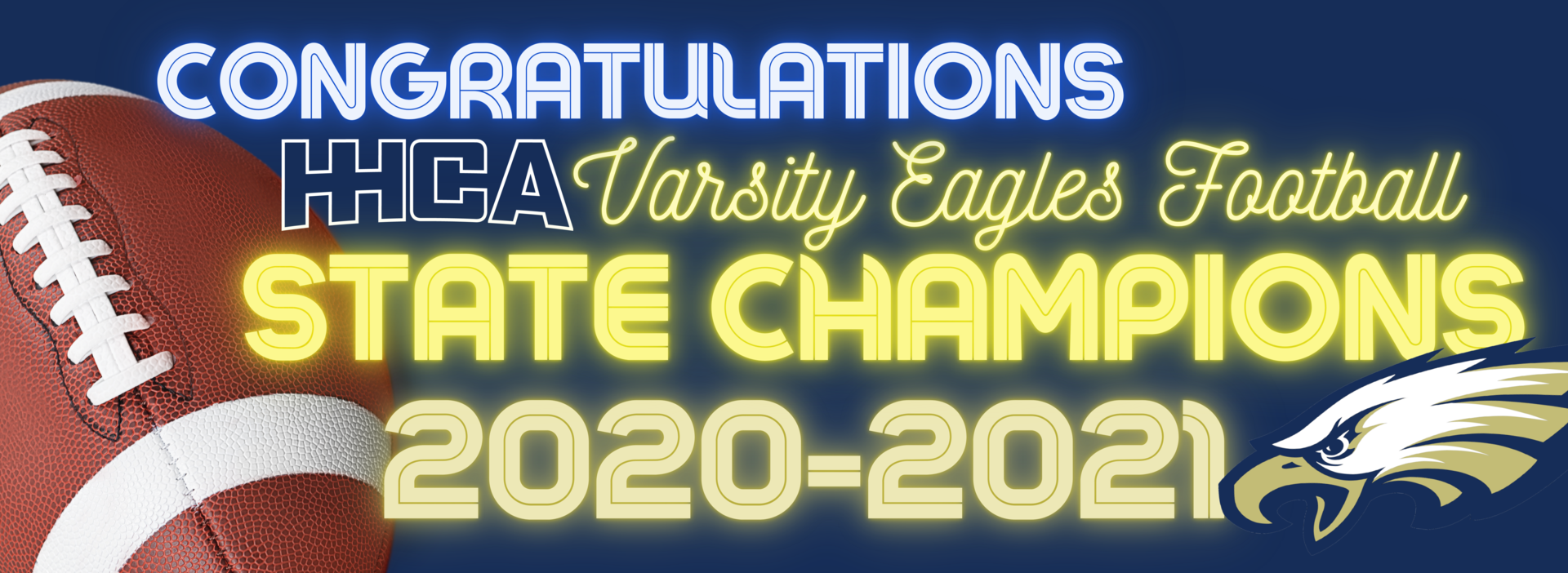 HHCA Football State Champs