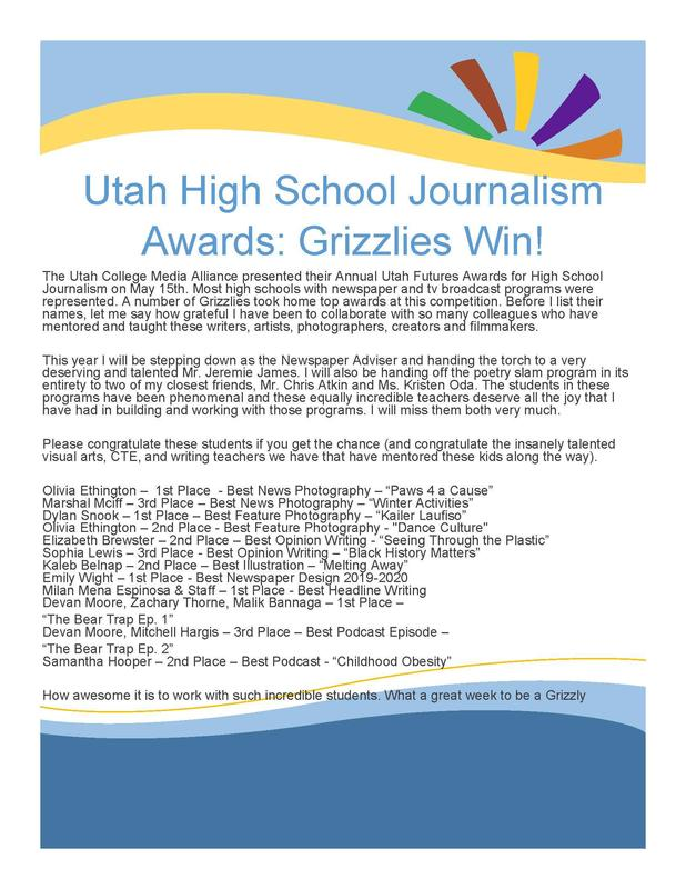 News Paper Awards