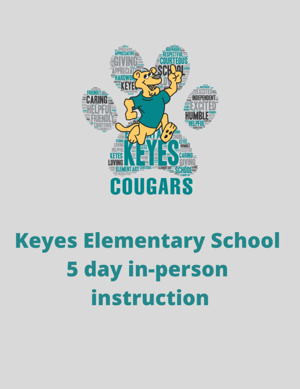 Keyes 5 day in-person flyer