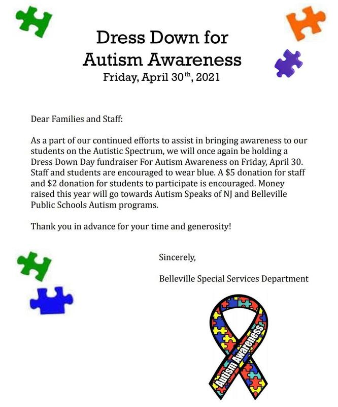 Autism Dress Down Day Featured Photo