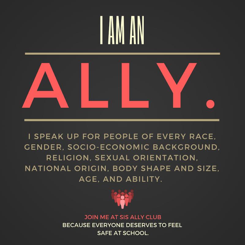 ally club sign