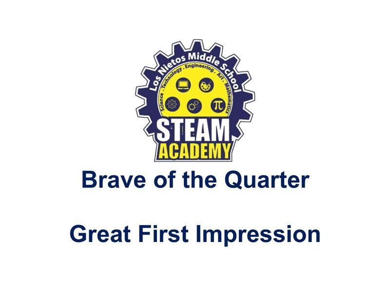 Brave of Quarter Awards video Featured Photo
