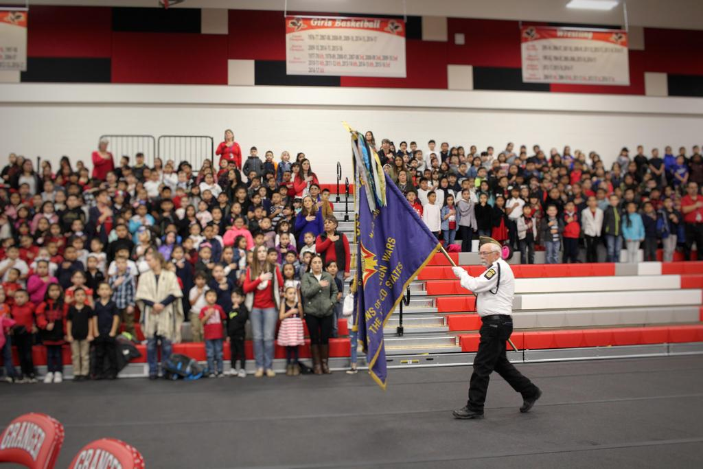Picture of the Color Guard