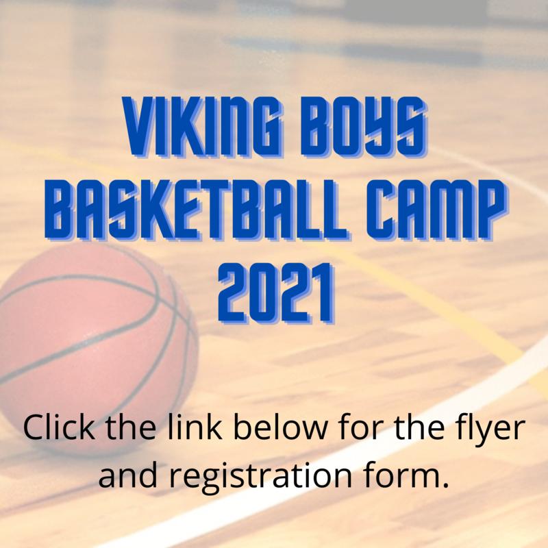 Viking Boys Basketball Camp 2021