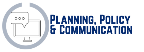 Planning, Policy & Communication Icon