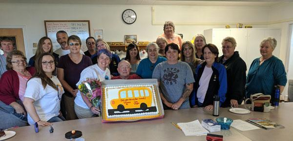 End of year Celebration and Retirement Party Staff Picture