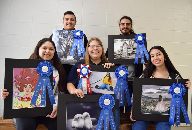 Photography & Graphic Design wins at State Contest