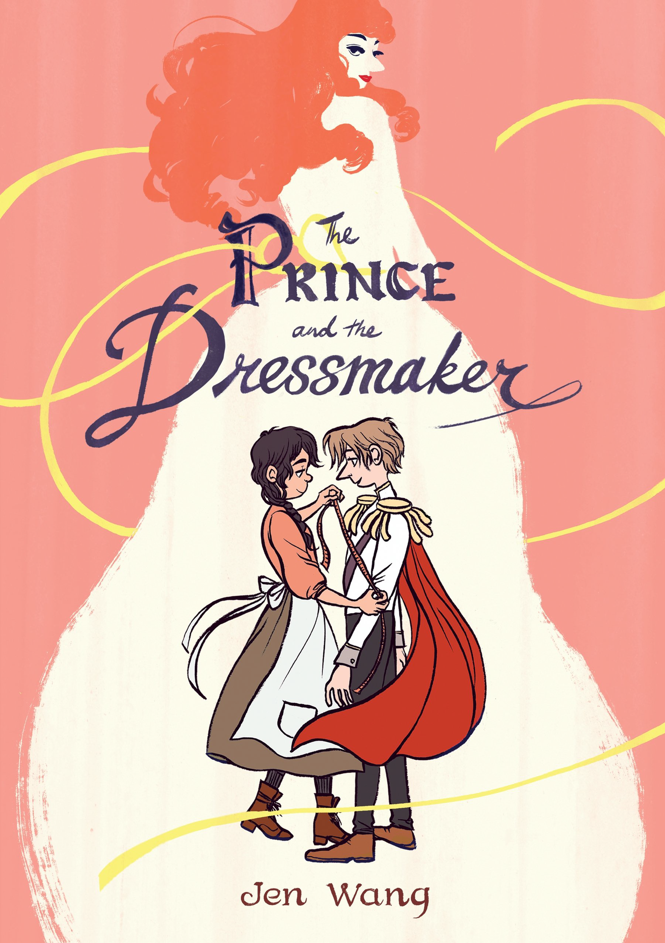 Book cover for The Prince and the Dressmaker