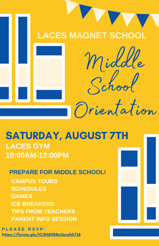 Middle School Orientation Featured Photo