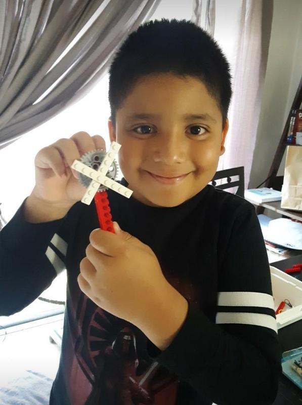 Fourth-grader David Castillo