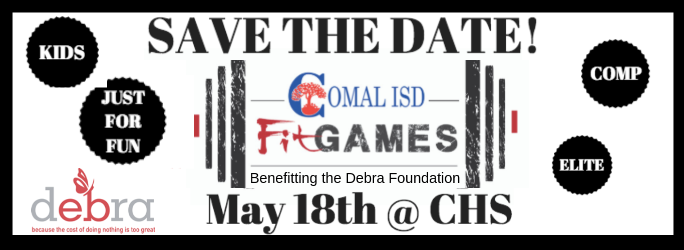 Comal Fit Games 2019 Benefitting Debra Foundation