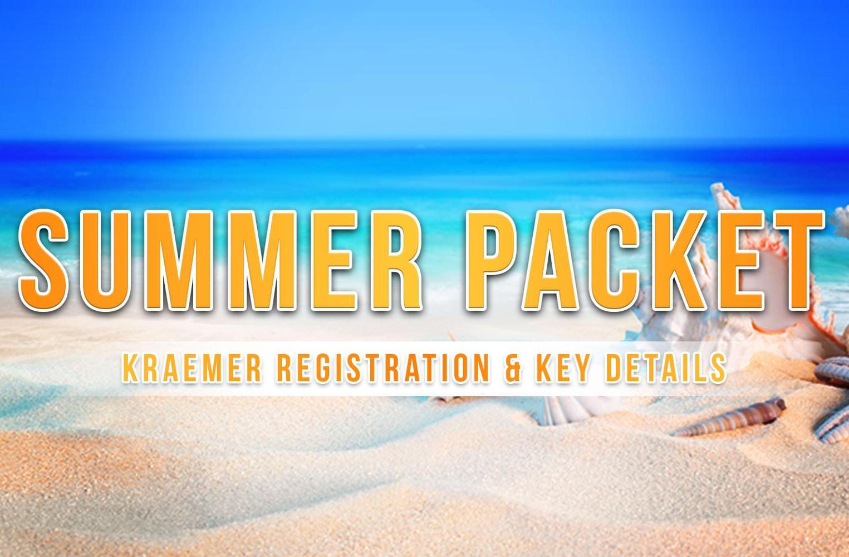 Kraemer Registration & Key Details