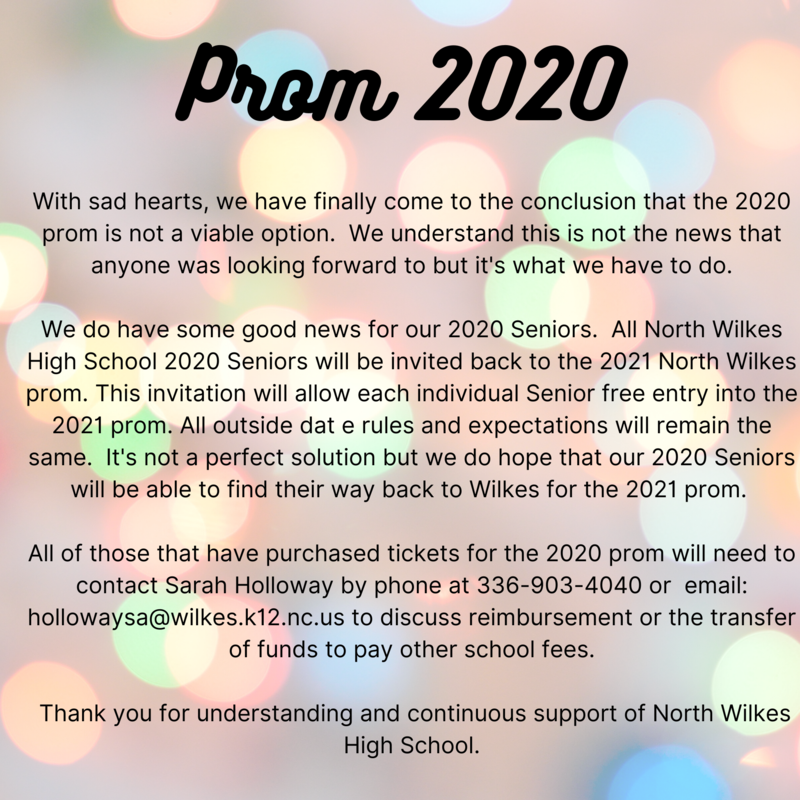 Prom 2020 - Please Click Here for Further Details Thumbnail Image