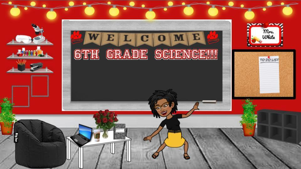 Welcome to 6th grade science!!!
