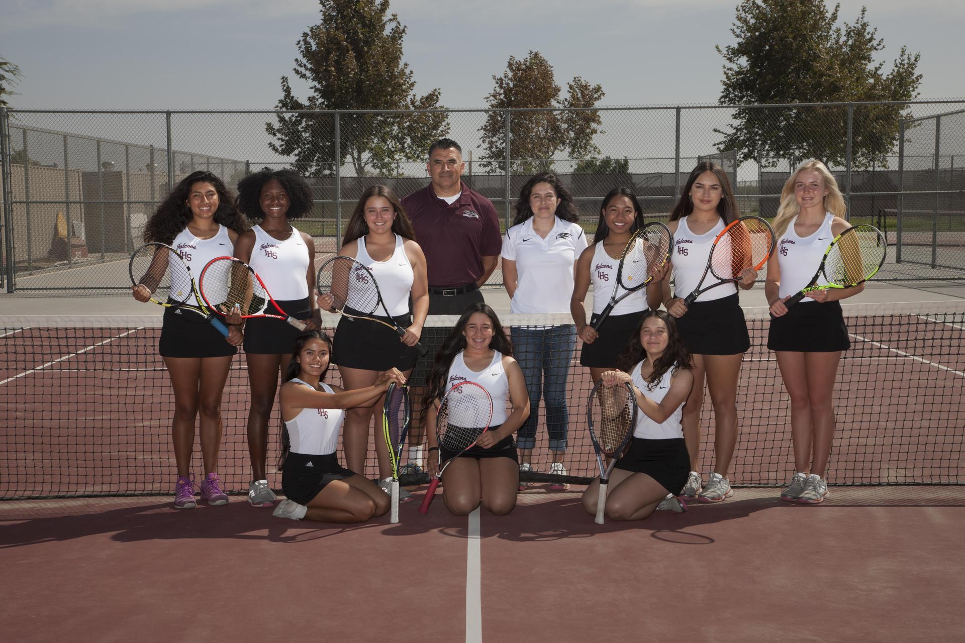 Varsity Girls Tennis 2018