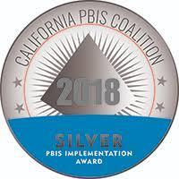 PBIS Silver Award 2018