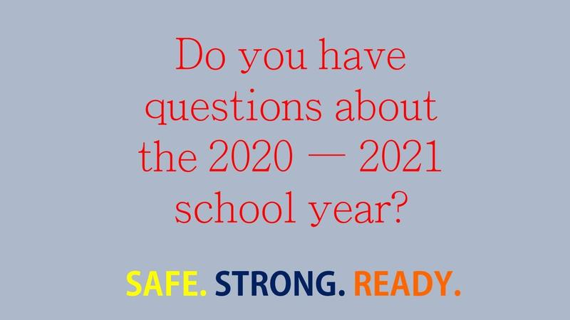 Submit your School Reopening Questions here! Featured Photo