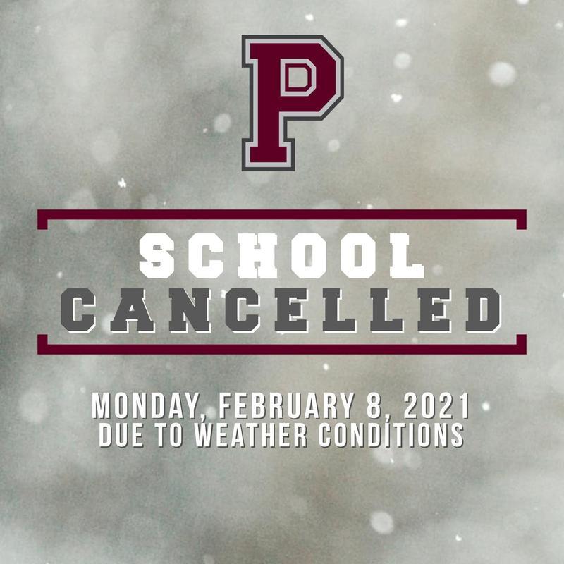 School cancelled Monday