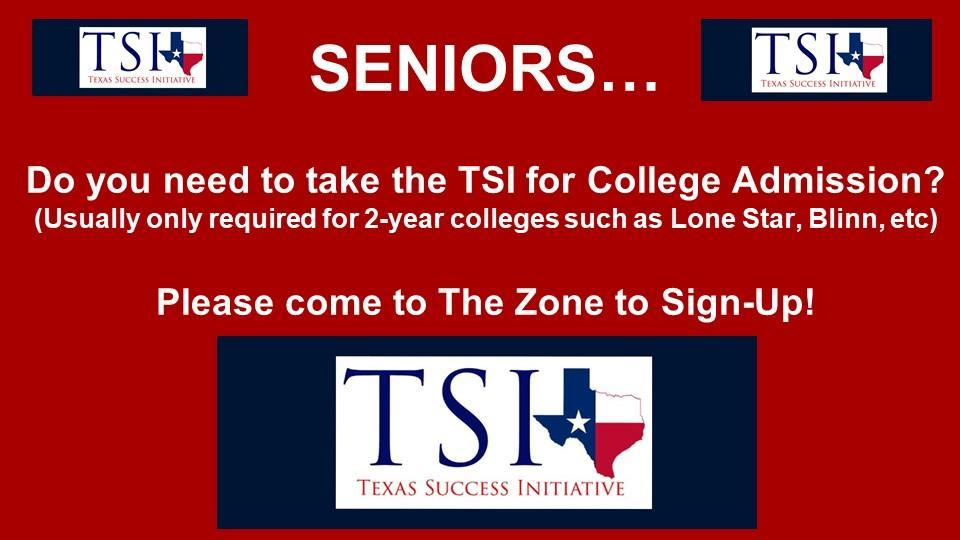 TSI Sign Up